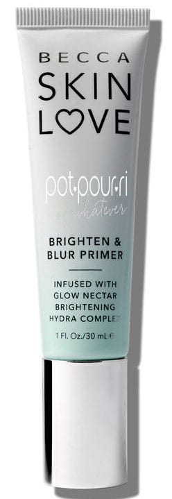 BRIGHTEN AND BLUR PRIMER COMES IN A TUBE WITH A SCREW ON LID