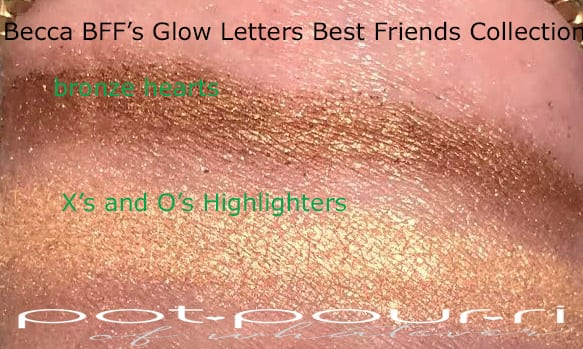 SWATCHES BFF'S GLOW LETTERS