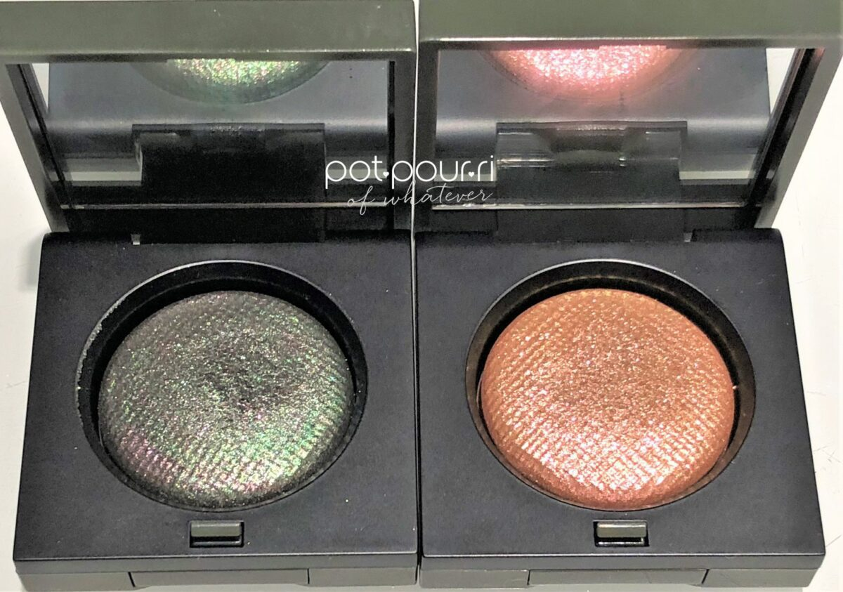 BB LUXE EYE SHADOW MULTICHROME JUNGLE LEFT, INCANDESCENT, RIGHT