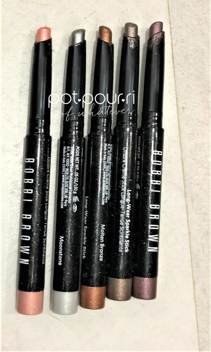 BOBBI-BROWN-CREAM-EYE-SHADOW-SPARKLE-STICKS-NEW-SPRING