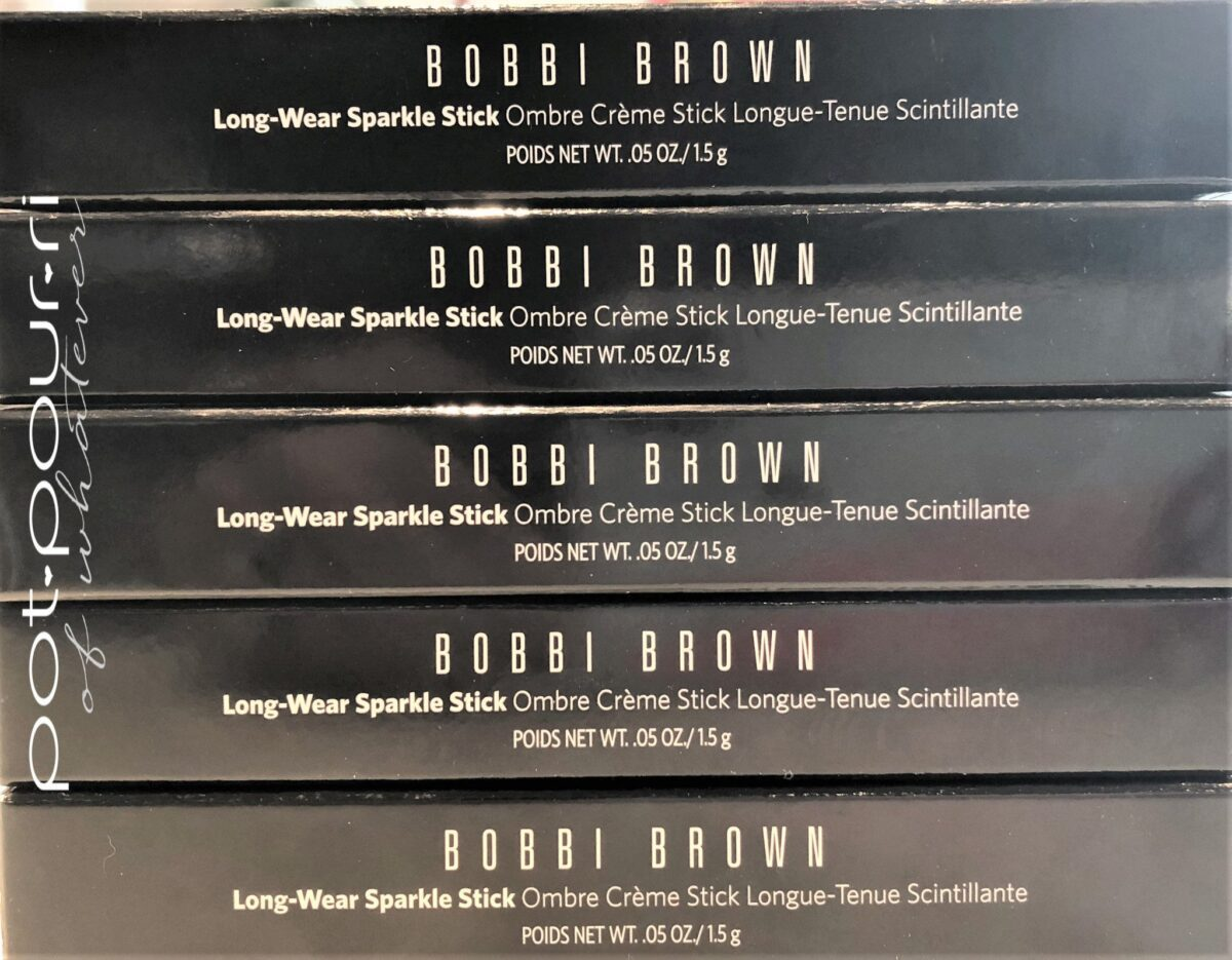 BOBBI BROWN LONG WEAR SPACKLE STICK PACKAGING