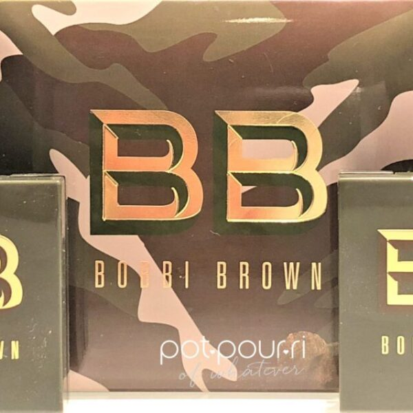 BOBBI BROWNLUXE CAMO COLLECTION PACKAGING CAMO PRINT