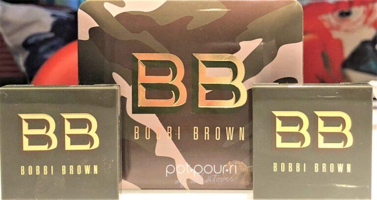 BOBBI BROWNLUXE CAMO COLLECTION PACKAGING CAMO PRINT