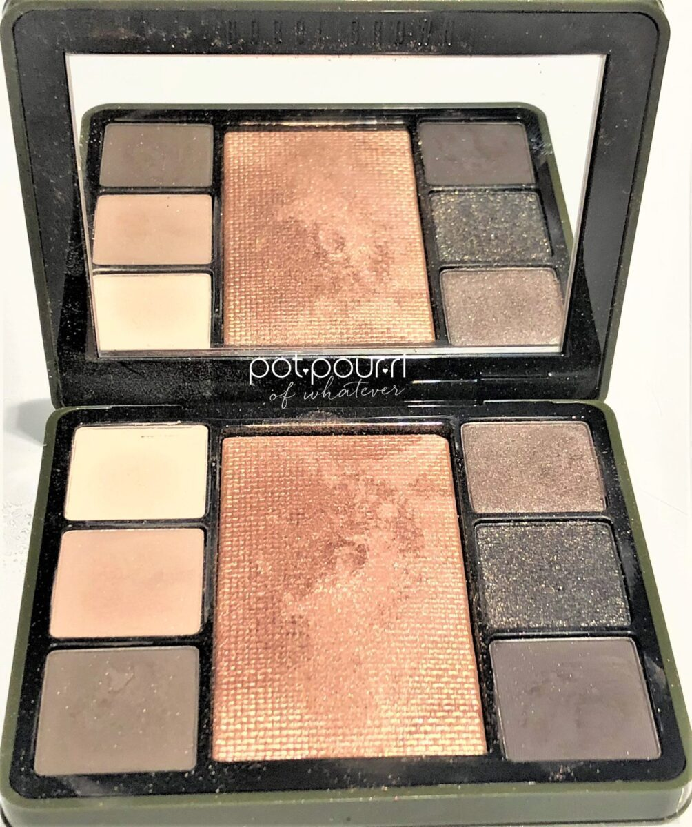 BOBBI BROWN LUXE CAMO EYE AND CHEEK COMPACT MIRROR