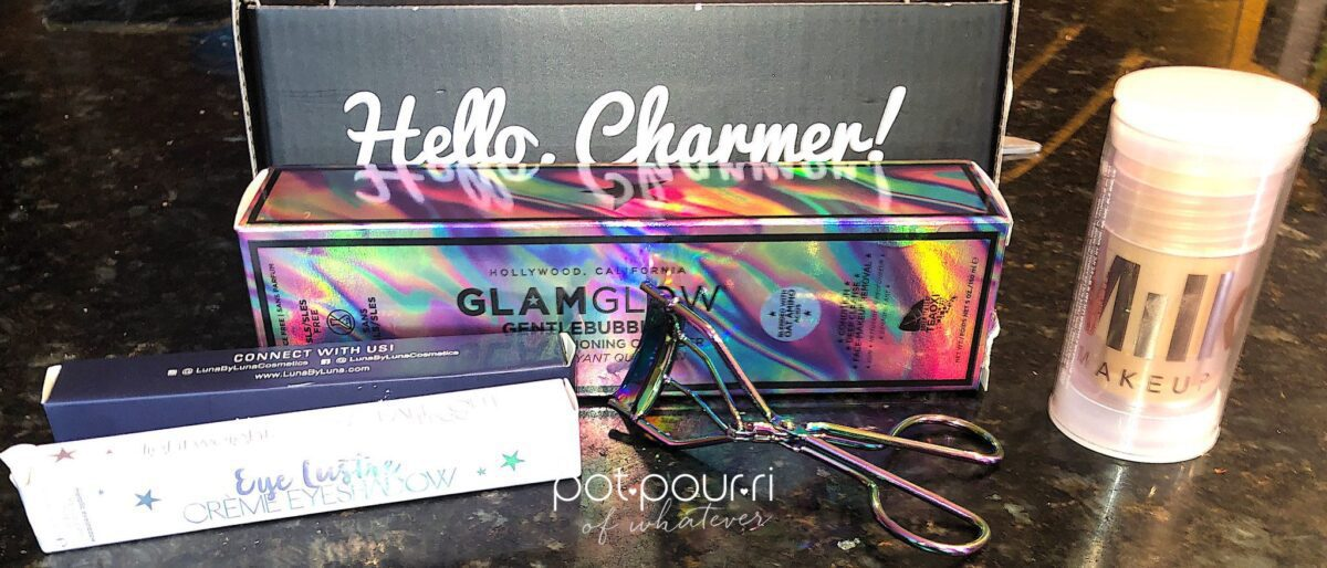 FIVE FULL SIZED PRODUCTS IN THE MAY BOXY CHARM SUBSCRIPTION BOX
