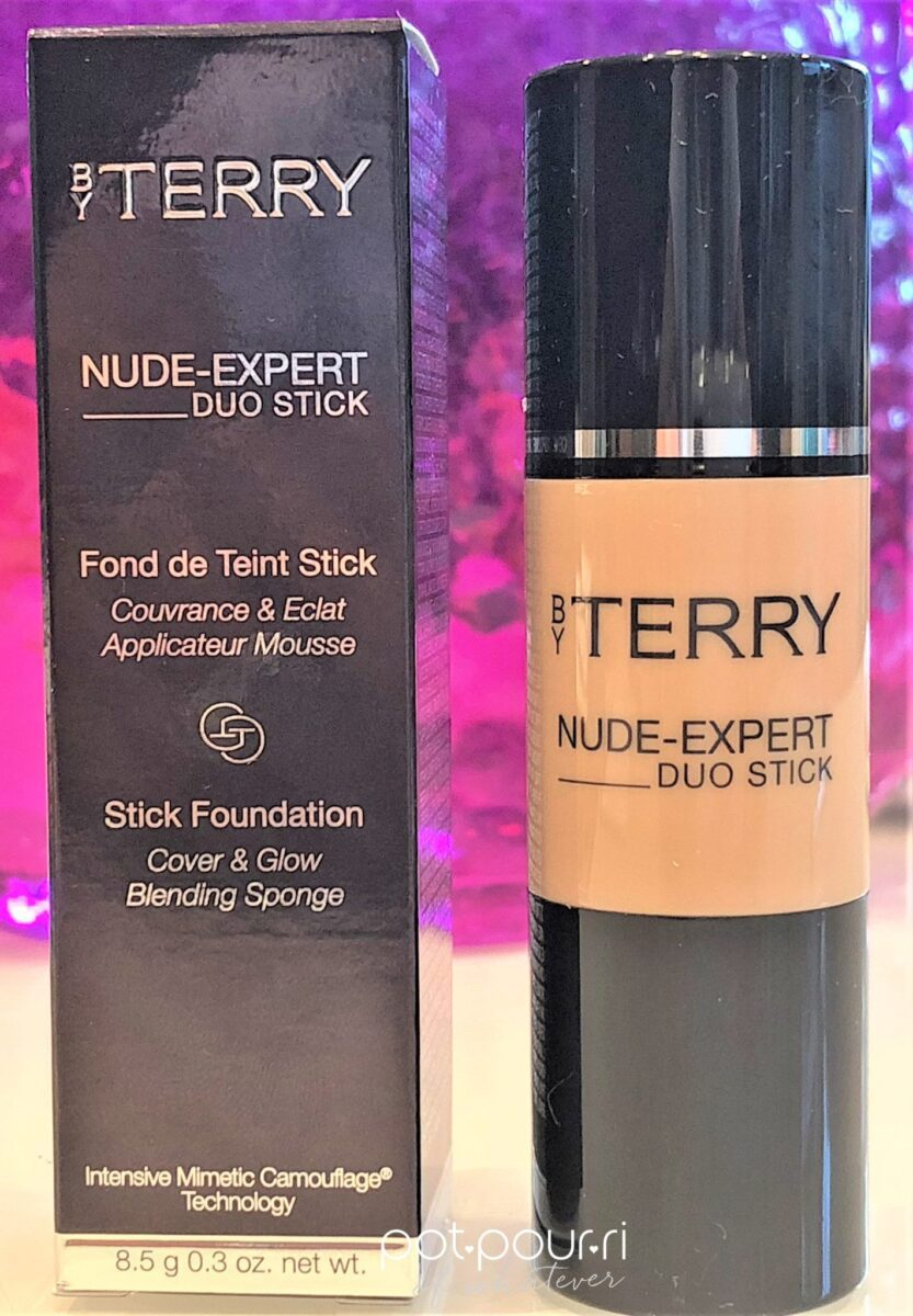 BY TERRY NUDE EXPERT DUO STICK PACKAGING BOX AND STICK
