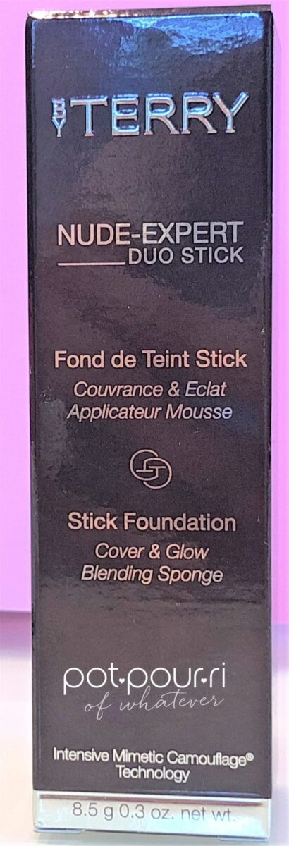 BY TERRY NUDE EXPERT DUO STICK PACKAGING