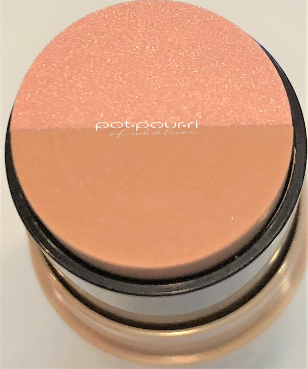 PEACH HIGHLIGHTER AND BEIGE FOUNDATION