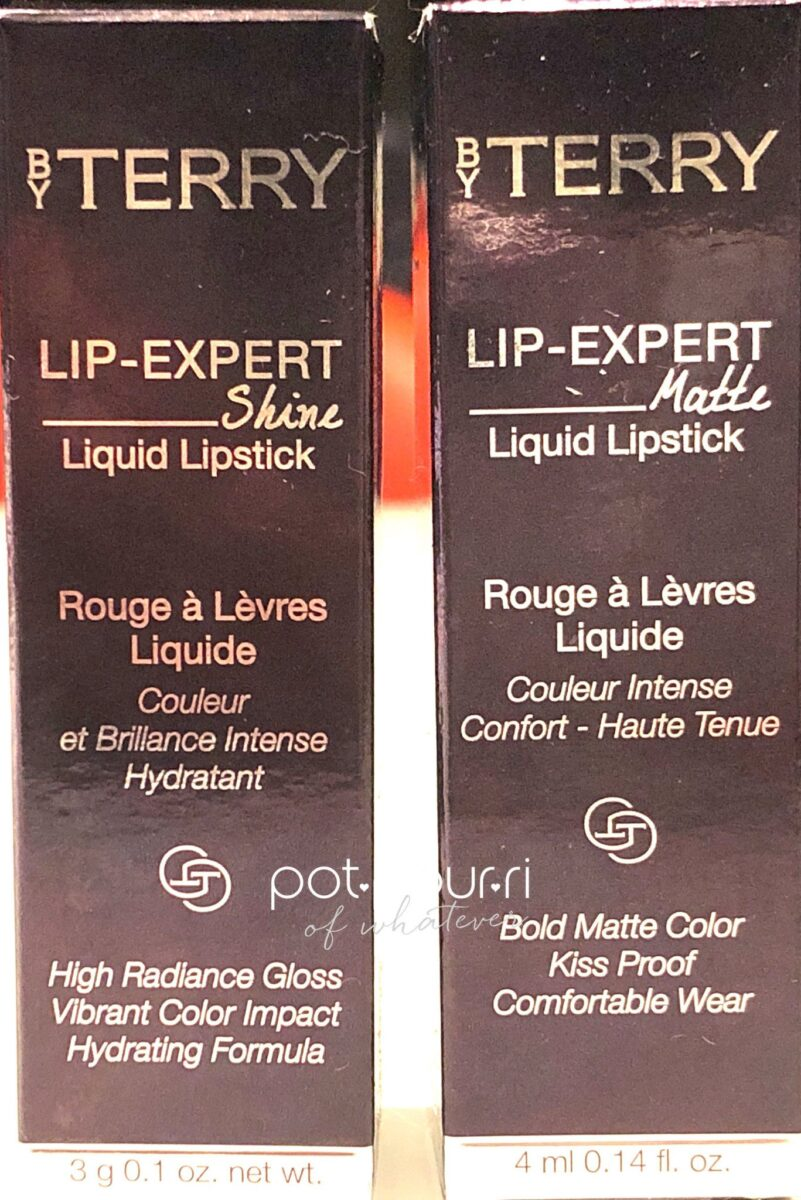 BY TERRY LIP EXPERT LIQUID LIPSTICK PACKAGING