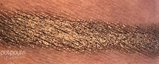 BYTERRY GLAM GLOW OMBRE BLACK STAR KIT SWATCH BRONZE MOON