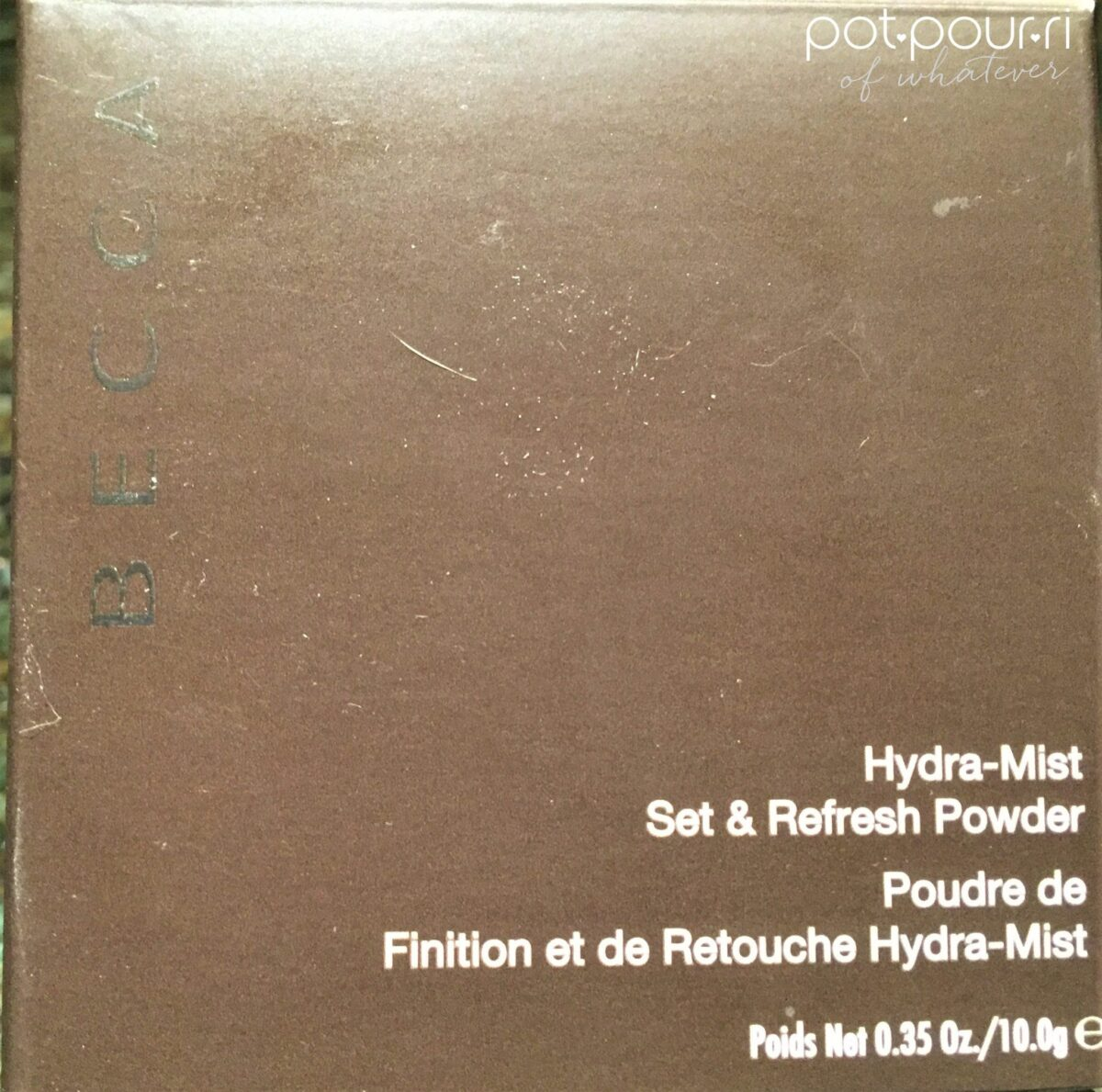 BECCA HYDRA-MIST-SET-REFRESH-POWDER-PACKAGING