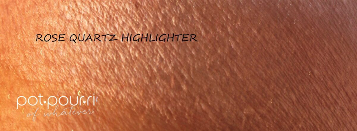 Rose Quartz Highlighter swatch