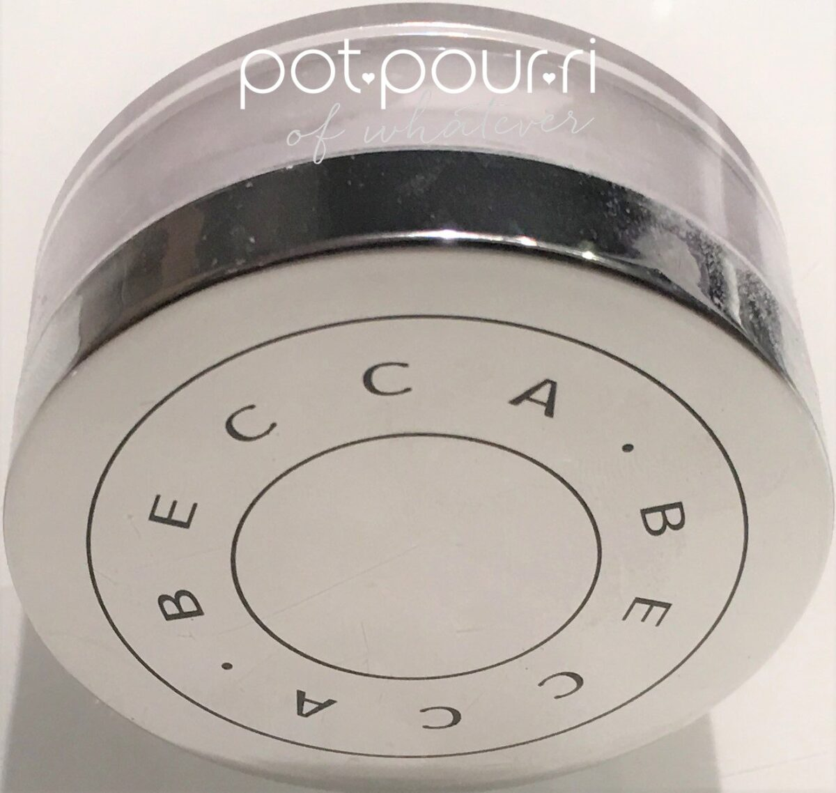 Becca setting powder jar