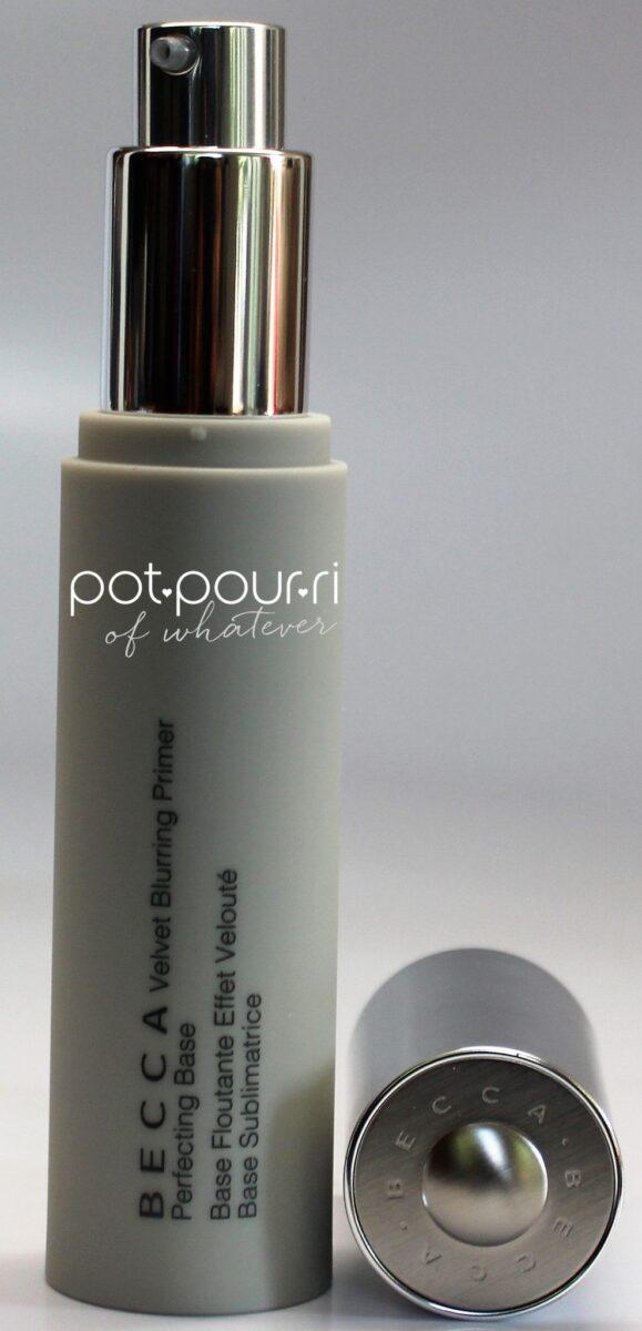 Becca-velvet-blurring-primer-in-a-pump-bottle-application