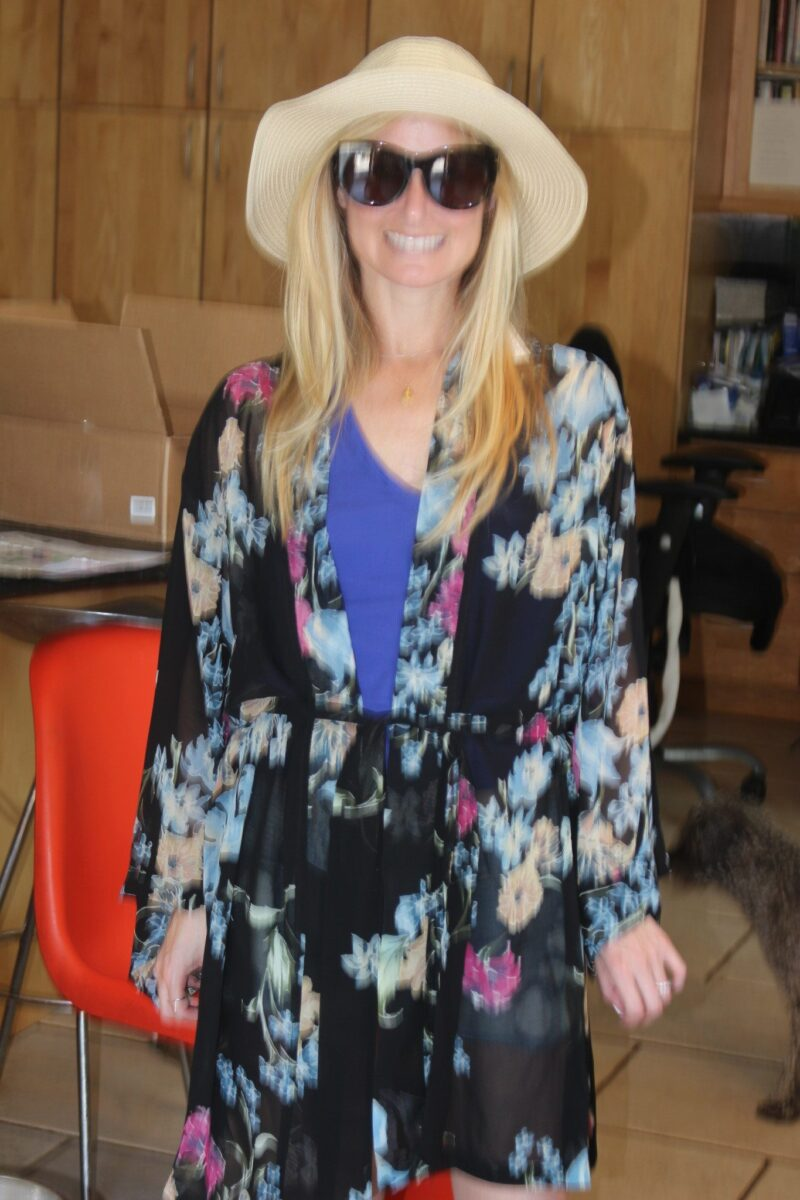 Helena Quinn Custom Kimono is the hero of 2017 summer