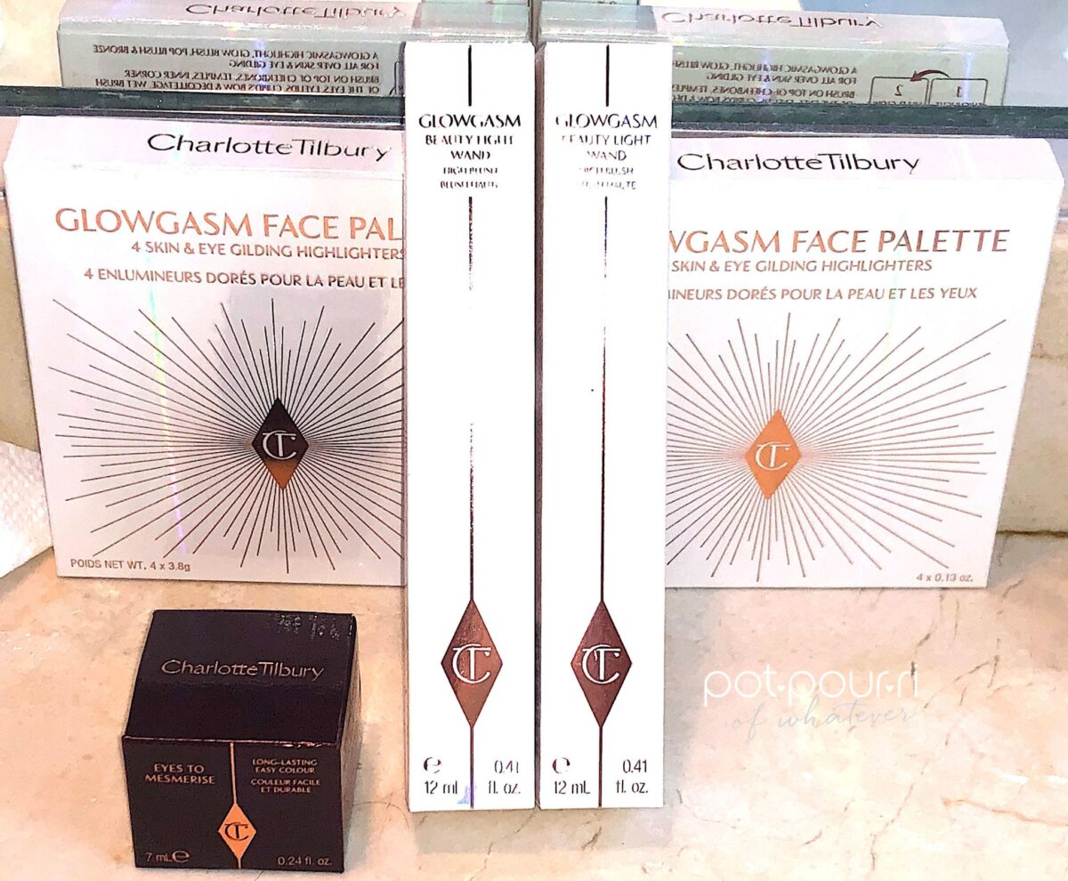 PACKAGING FOR THE CHARLOTTE TILBURY GLOWGASM COLLECTION