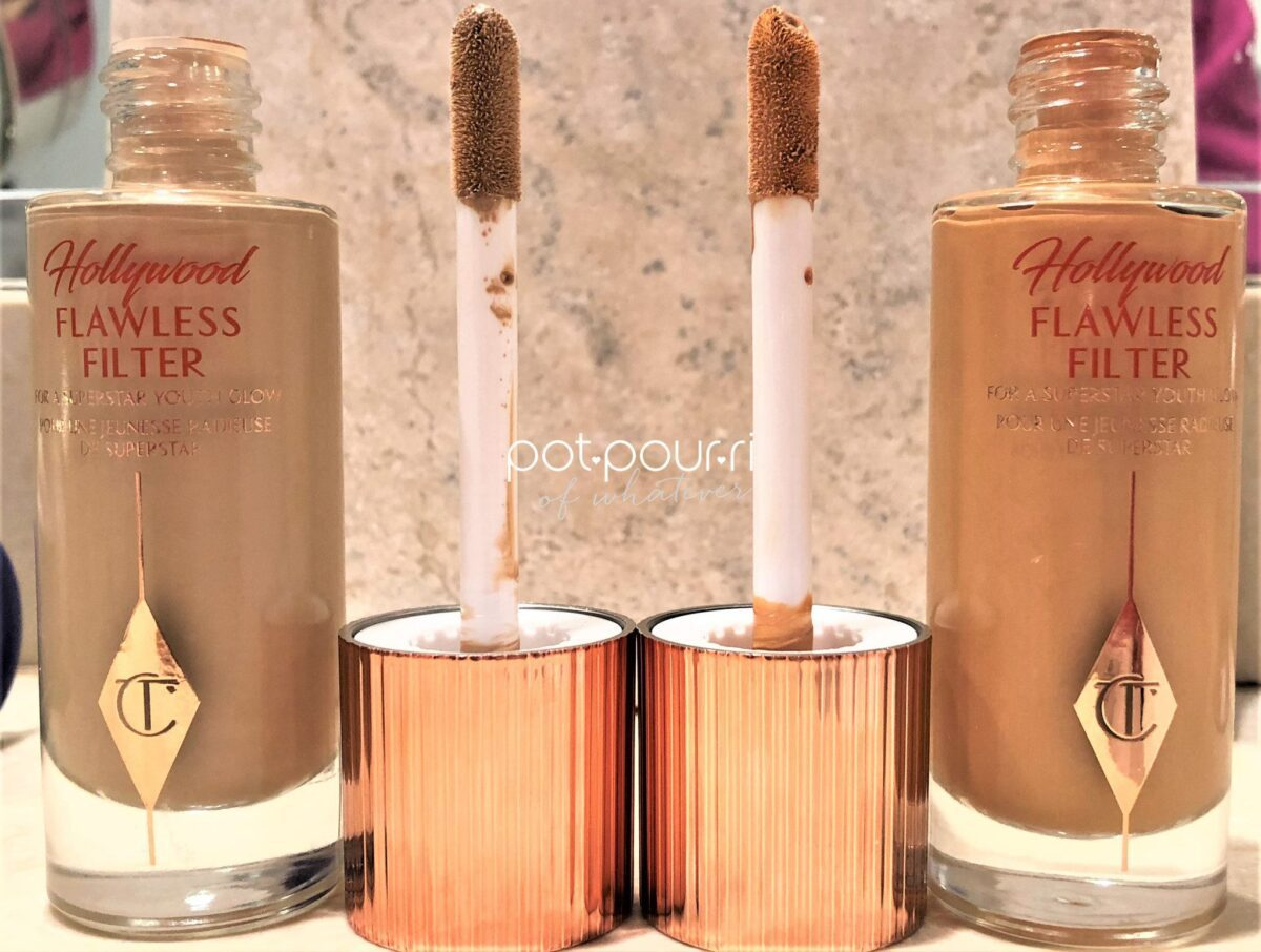 HOLLYWOOD-FLAWLESS-FILTER-SIGNATURE-CHARLOTTE-TILBURY-GOLD-LID/DOE-FOOTED-APPLICATOR