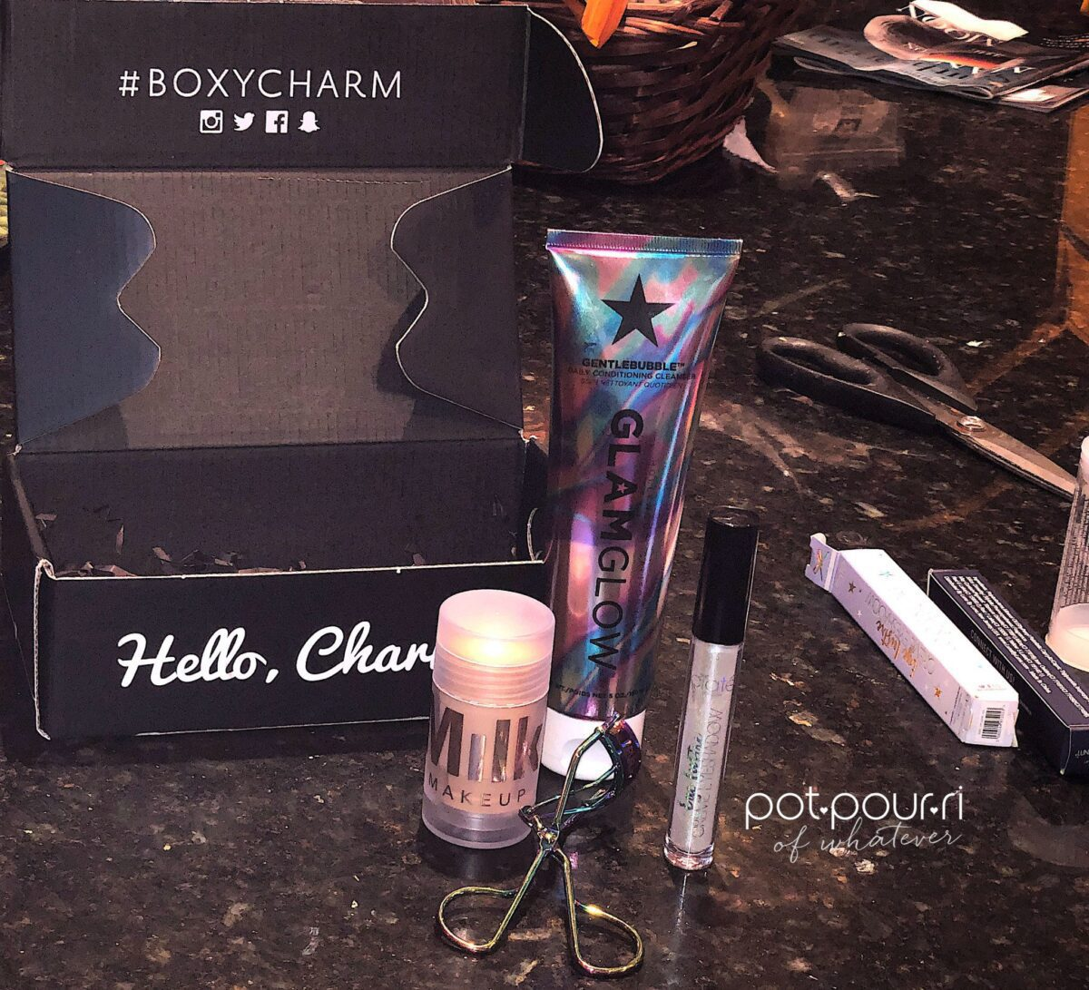 PRODUCTS IN BOXY CHARM SUBSCRIPTION BOX