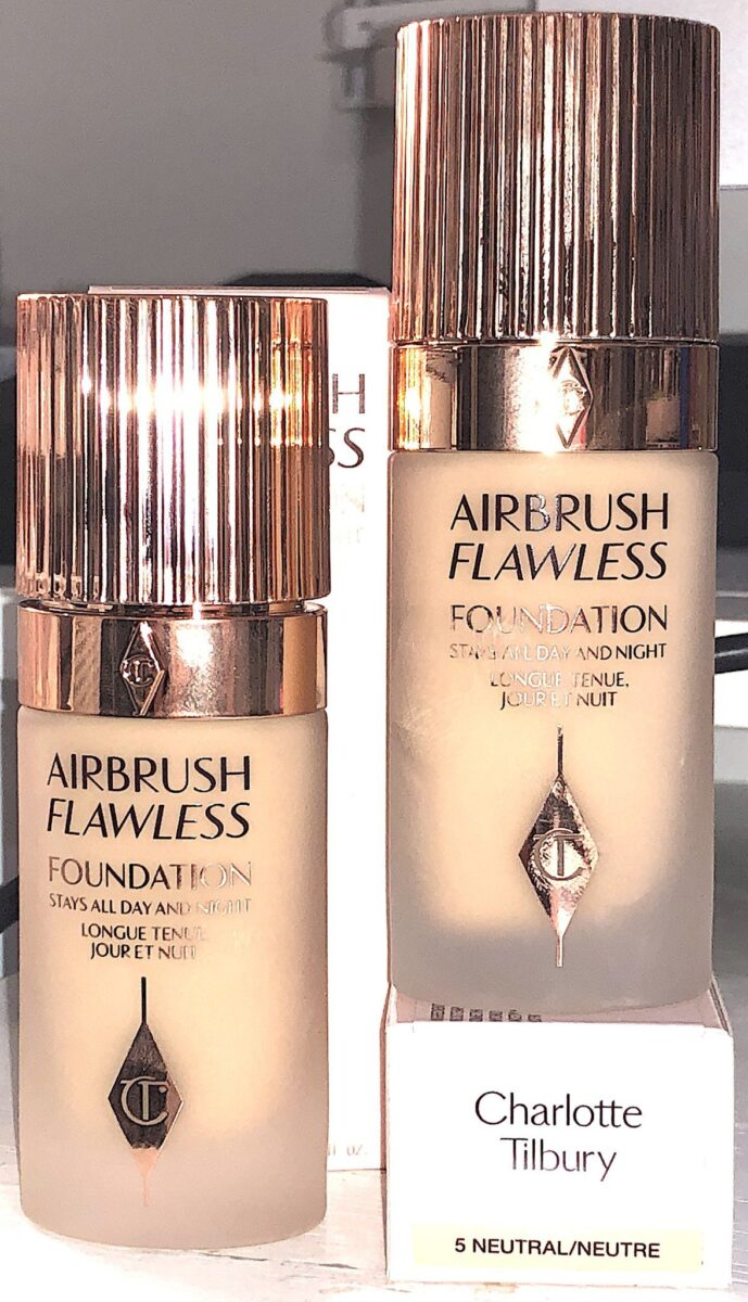 5 NEUTRAL AND 6 NEUTRAL AIRBRUSH FLAWLESS FOUNDATION