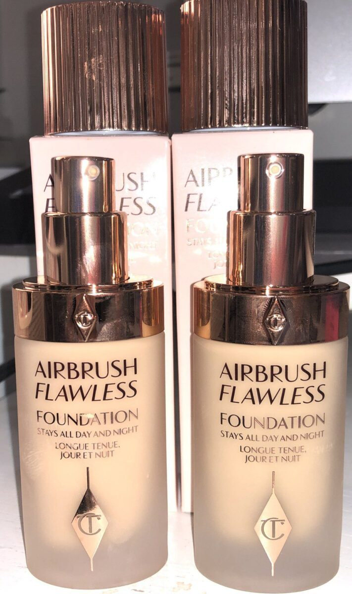 CT AIRBRUSH FLAWLESS FOUNDATION WITH PUMP DISPENSER