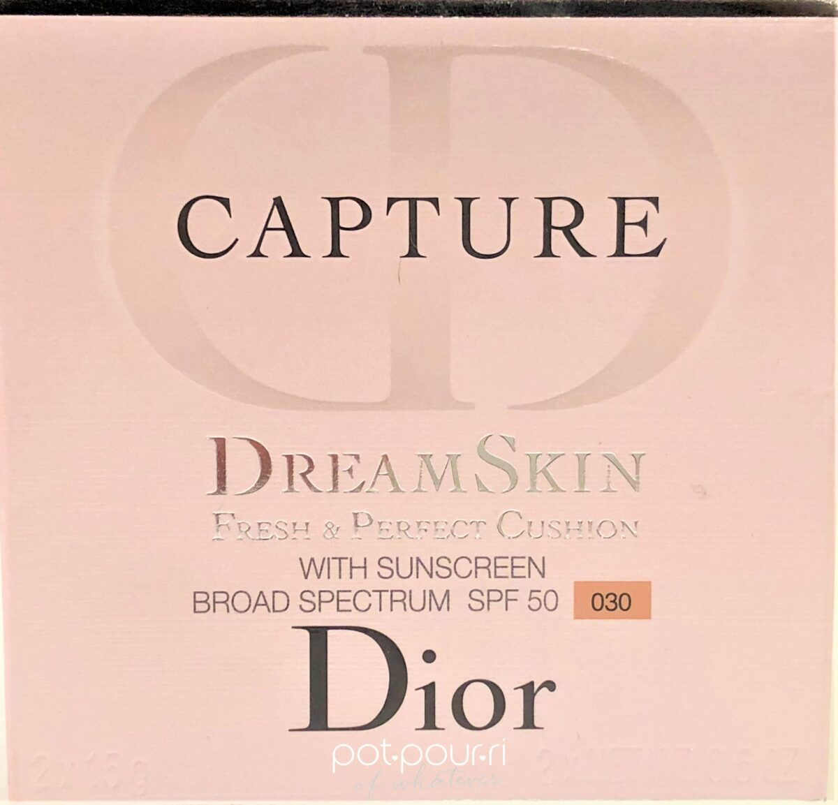 PACKAGING FOR DIOR CAPTURE DREAM SKIN CUSHION