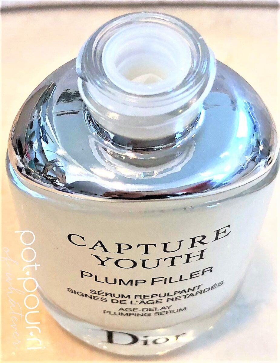 Dior Capture Youth Serum Bottle with silver top