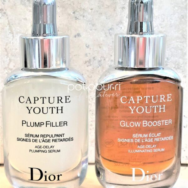 Dior Capture Youth Serums Plum Filler and Glow Booster