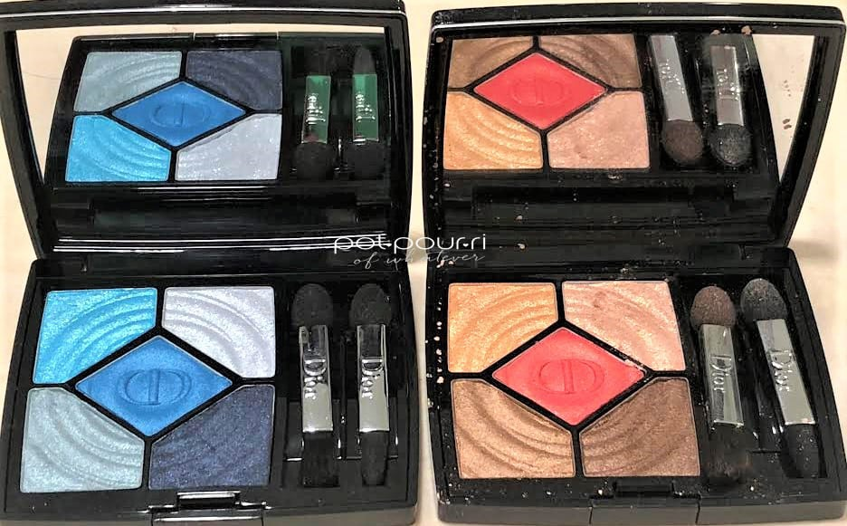 CHRISTIAN DIOR COOL WAVES EYESHADOW PALETTES