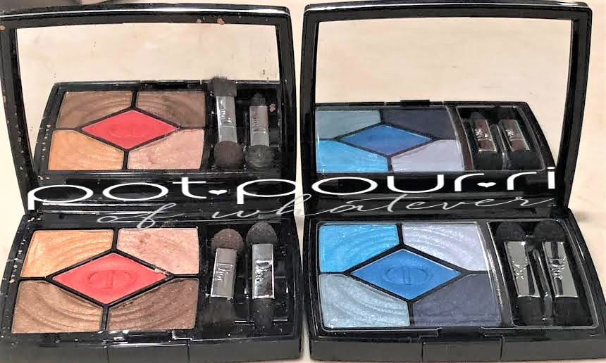 CHRISTIAN DIOR COOL WAVES SUMMER PALETTES HAVE A FULL MIRROR