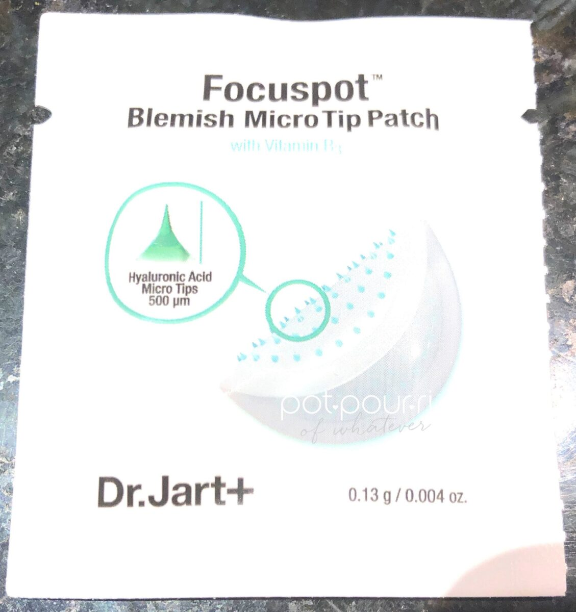 DRJART FOCUSPOT MICRO TIP PATCH HYALURONIC ACID MICRO TIPS