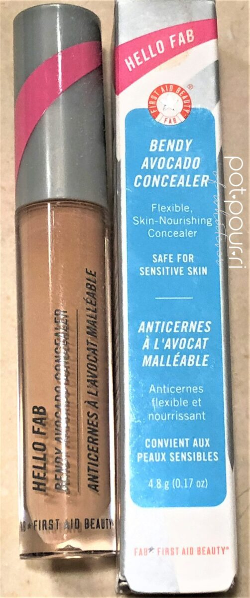 FIRST AID BEAUTY BENDY AVOCADO CONCEALER PACKAGING TUBE/BOX