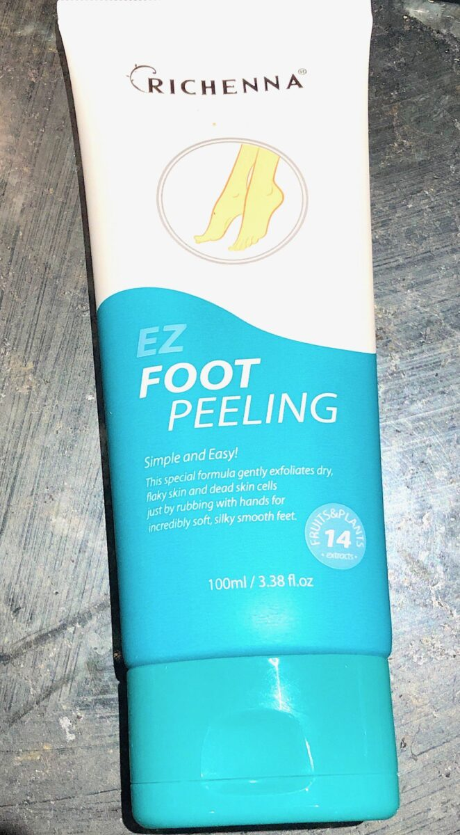 EZ FOOT PEELING TUBE