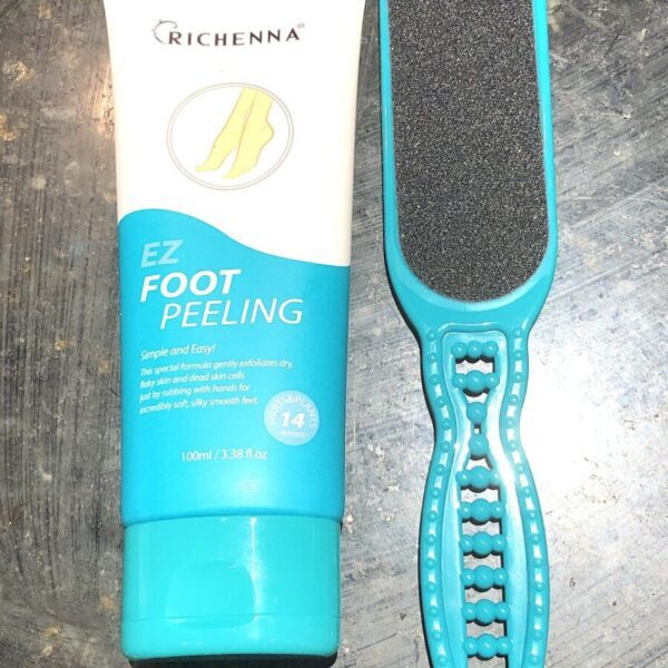 YOU WON'T NEED TO USE THE EXFOLIATING FOOT FILE TO GET SUMMER FEET