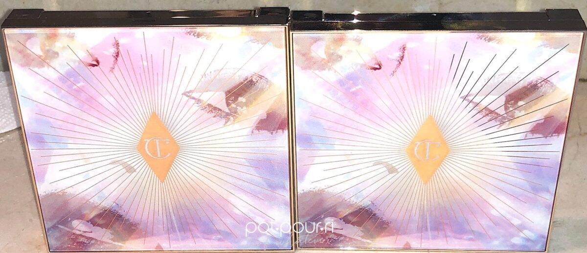 GLOWGASM FACE PALETTES FRONT OF COMPACTS