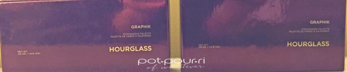 HOURGLASS GRAPHIK EYE SHADOW PACKAGING
