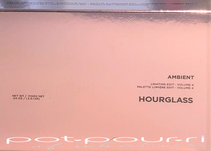 PACKAGING HOURGLASS LIGHTING EDIT VOLUME 4