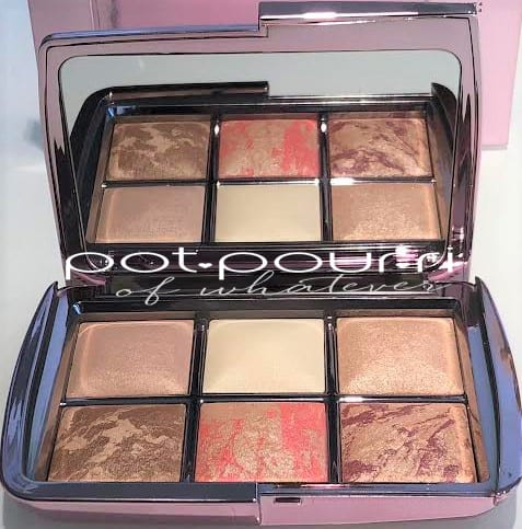 MIRROR AND SIX SHADES IN OPENED HOURGLASS LIGHTING EDIT VOLUME 4 PALETTE