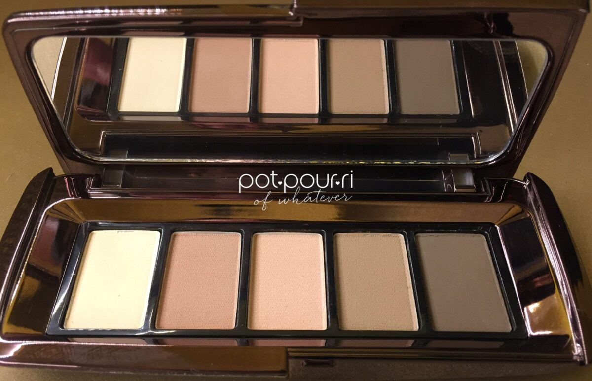 HOURGLASS EYE SHADOW PALETTE COMPACT WITH MIRROR