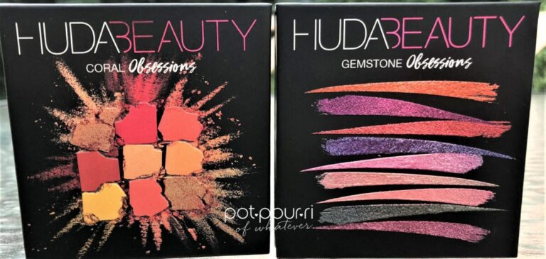 HUDA BEAUTY NEW OBSESSION PALETTES FOR SUMMER