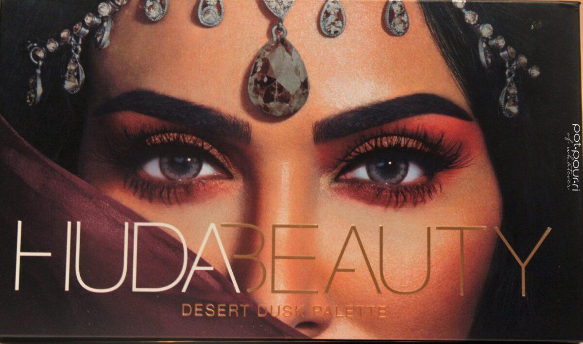 Desert Dusk Eyeshadow Palette compact cover