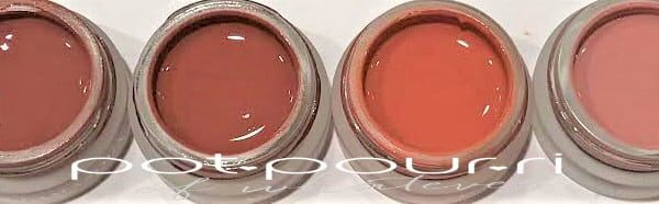 ILLAMASQUA COLOR VEIL GEL BLUSH SHADES CONSUME, ENTICE, INFATUATE, FRISSION
