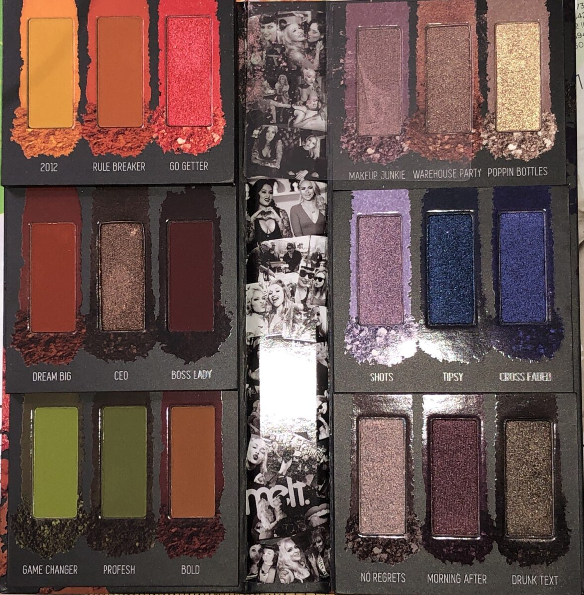 THE LEFT SIDE OF THE PALETTE STEPS GO DOWN