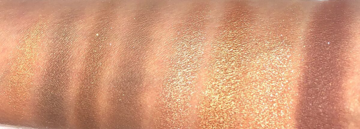 SWATCHES RIGHT TO LEFT, QUEEN OF GLOW AND REBEL QUADS