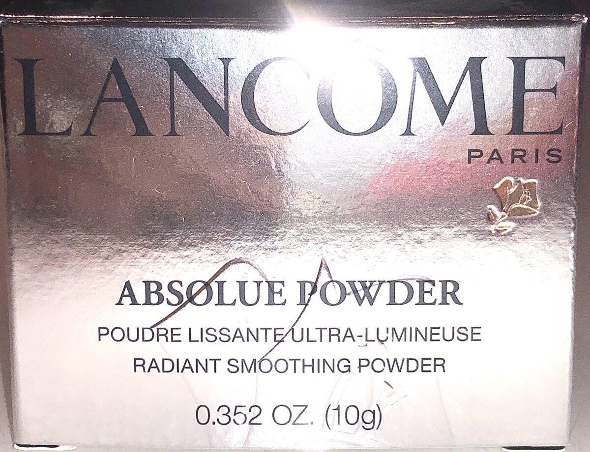 LANCOME ABSOLUE PECHE POWDER OUTER BOX