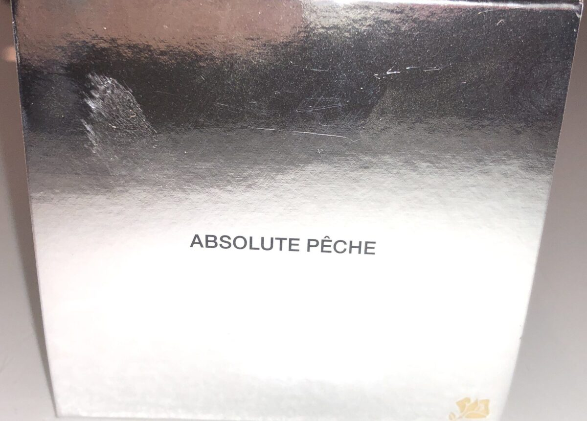 LANCOME ABSOLUE PECHE POWDER OUTER PACKAGING