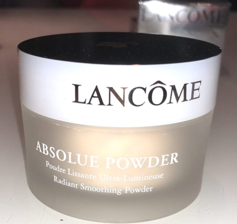 LANCOME ABSOLUE PECHE POWDER JAR