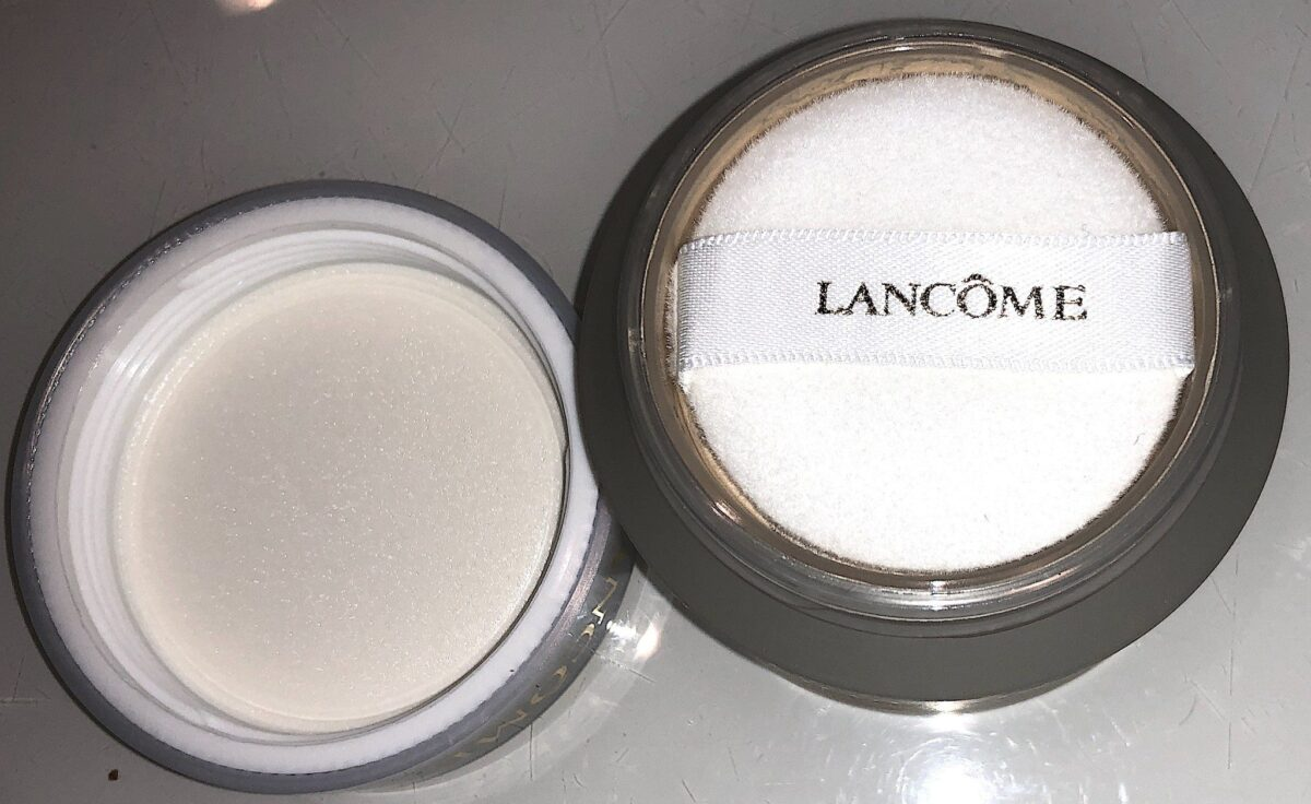 LANCOME ABSOLUE PECHE POWDER JAR OPENED