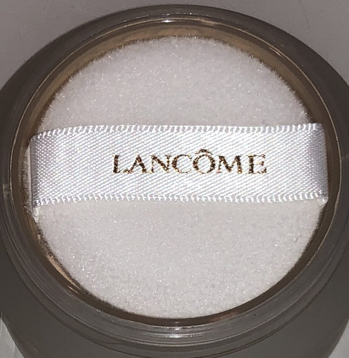 THE LANCOME ABSOLUE PECHE POWDER PUFF