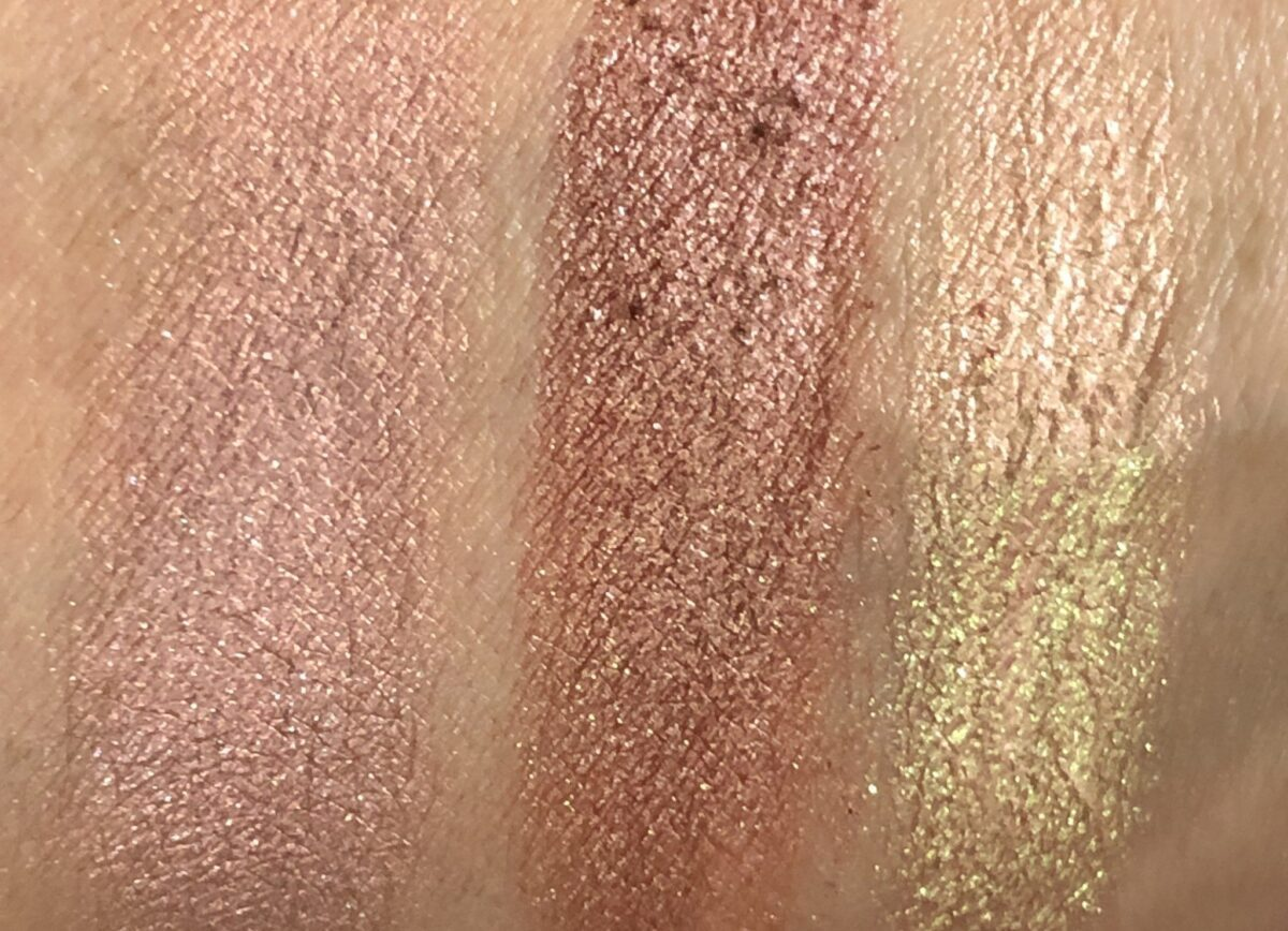 SWATCHES MAKEUP JUNKIE, WAREHOUSE PARTY, AND POPPIN BOTTLES