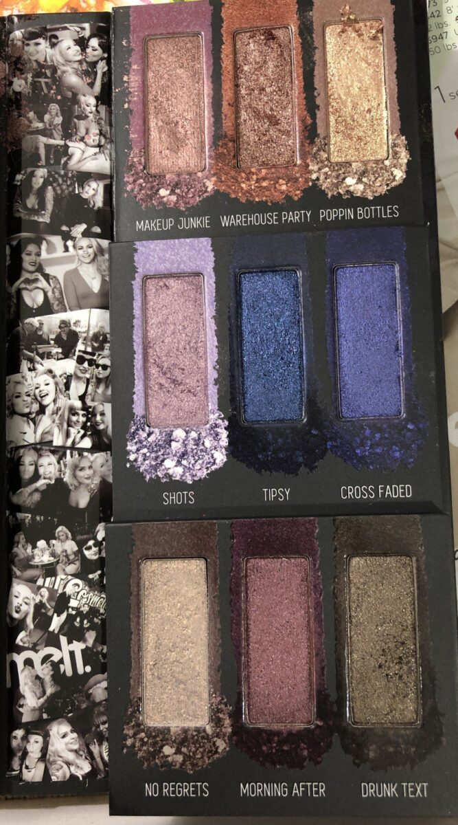 RIGHT SIDE OF PALETTE
